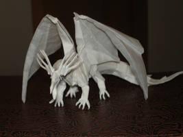 Ancient Dragon-Kamiya1 by origami-artist-galen