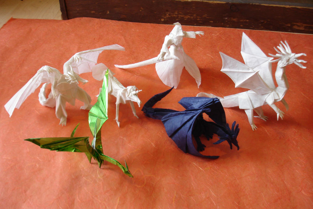How To Make Origami Ancient Dragon Tutorial