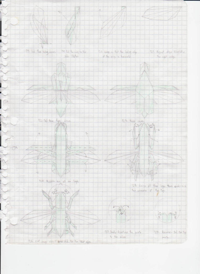 Origami Bugs Diagrams Origami Beetle Diagram
