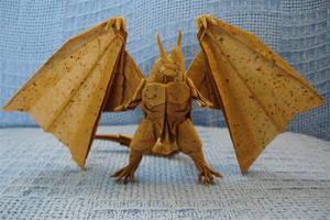 Bahamut 2.1-Kamiya1 by origami-artist-galen