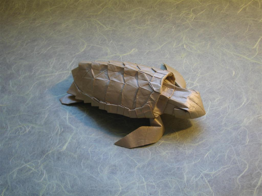 Loggerhead Sea Turtle by origami-artist-galen
