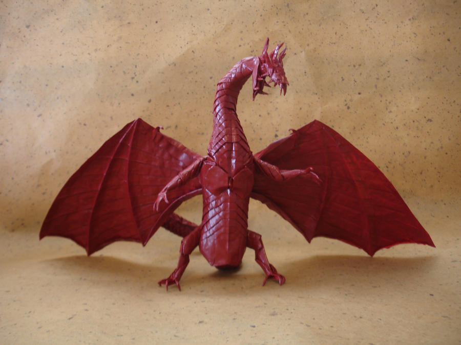 Origami Zoanoid Dragon Ver.2 by origami-artist-galen on ... - photo#3