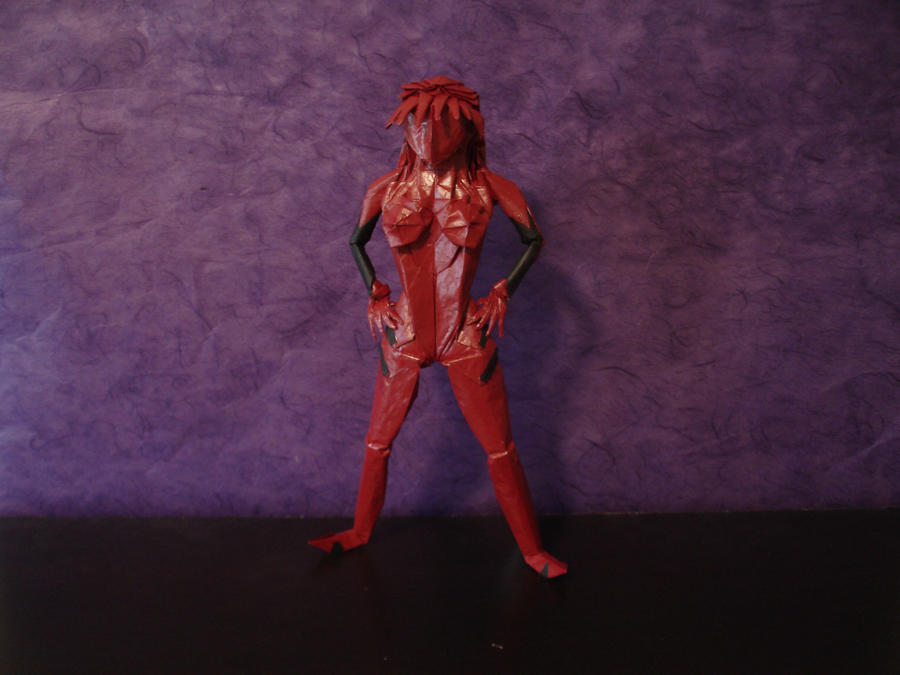 Origami Asuka By Artist Galen
