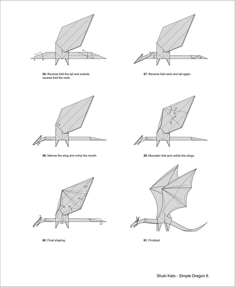 Simple Dragon Diagrams
