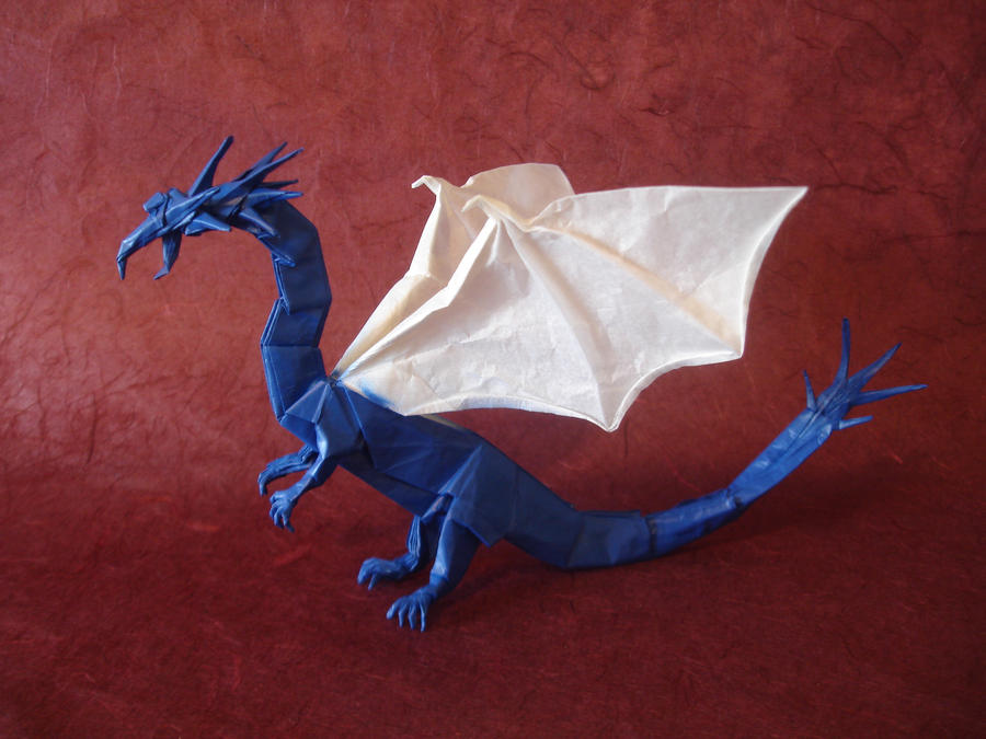 western dragon v3 full diagrams by origami artist galen on deviantart : origami western dragon diagram - findchart.co