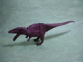 Origami Giganotosaurus by origami-artist-galen