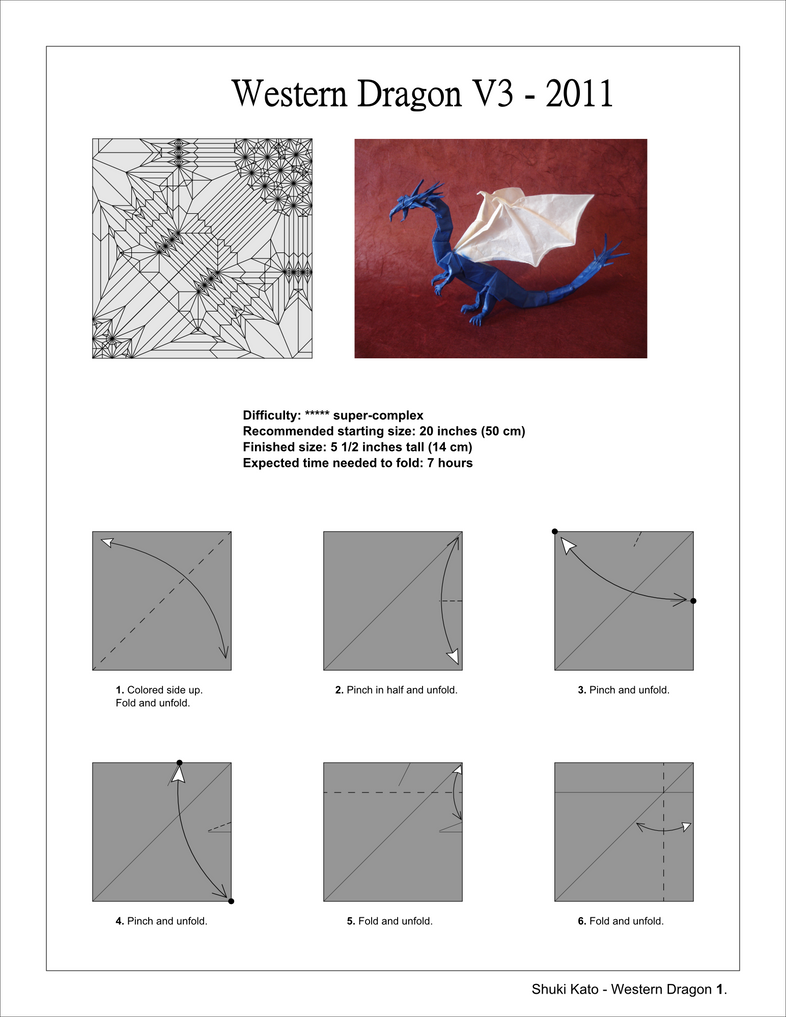 Origami Dragon Diagrams Pdf Search For Wiring Diagrams