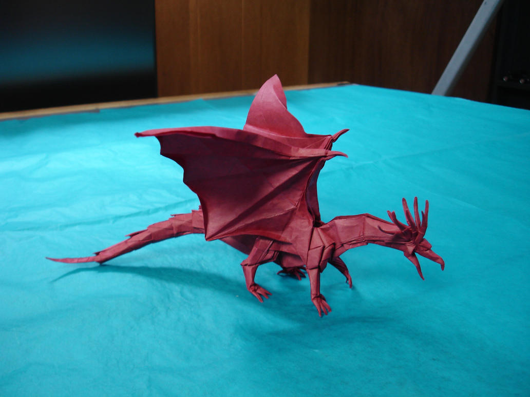 Origami Ancient Dragon By Artist Galen