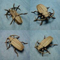 Origami Titan Beetle by origami-artist-galen