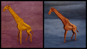Origami Giraffes