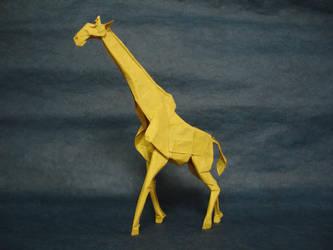 Giraffe 2014 by origami-artist-galen