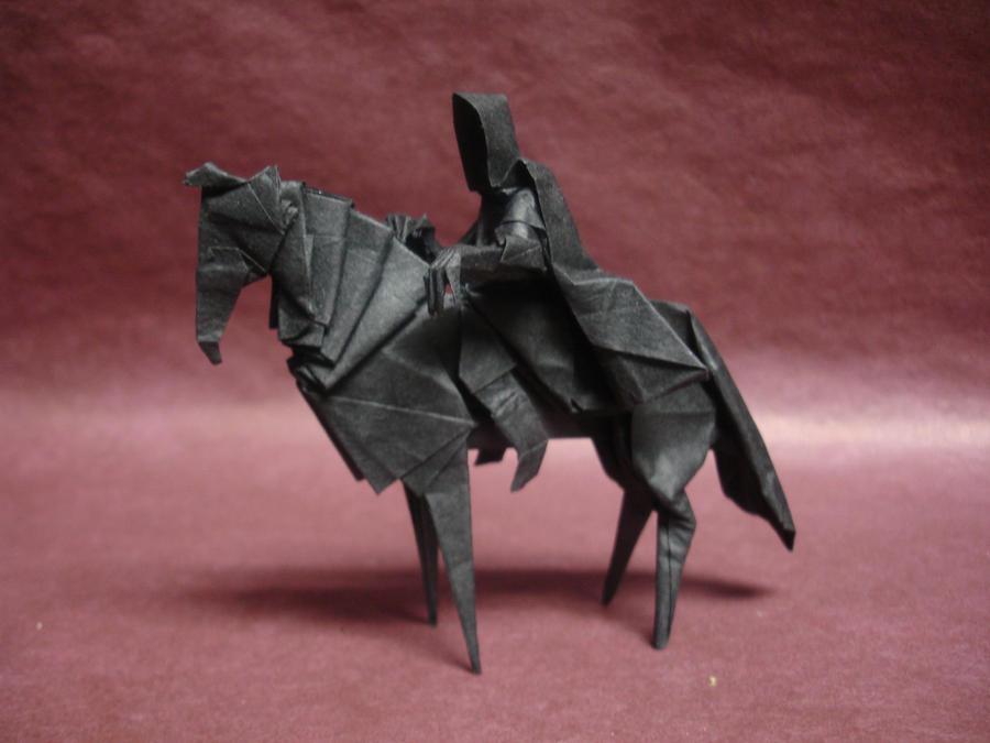 Nazgul 8.1 - Ku by origami-artist-galen