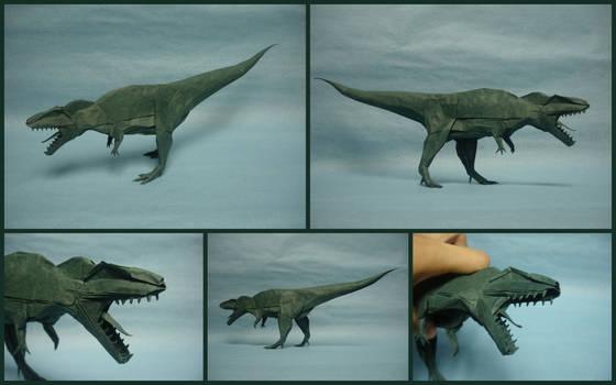 Origami Giganotosaurus 2015
