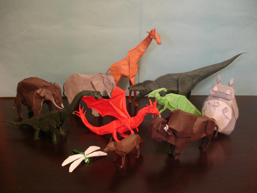 Origami in Past Year by origami-artist-galen
