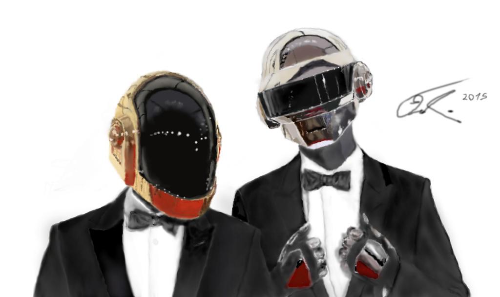 Daft Punk by VedranLukic