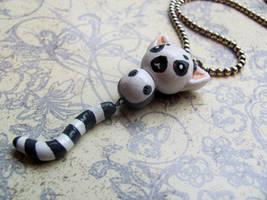 Lemur Necklace by Stripedy