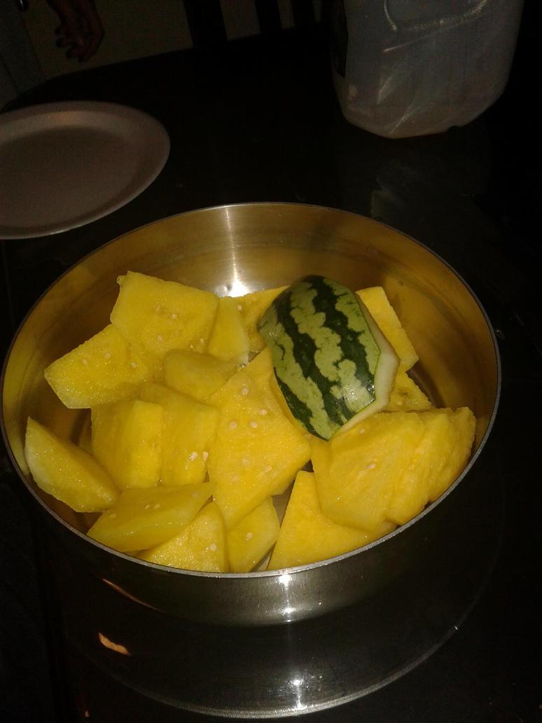 yellow watermelon by Bonnie1200