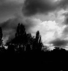 gloomy skies, gloomy me
