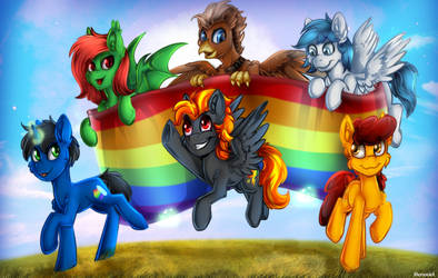 Ponies for the Pride