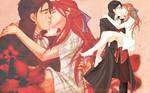 Kiss a Pirate - Wallpaper by kitsunedajfox