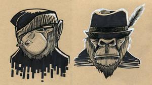 Monkey Swag by MFMugen