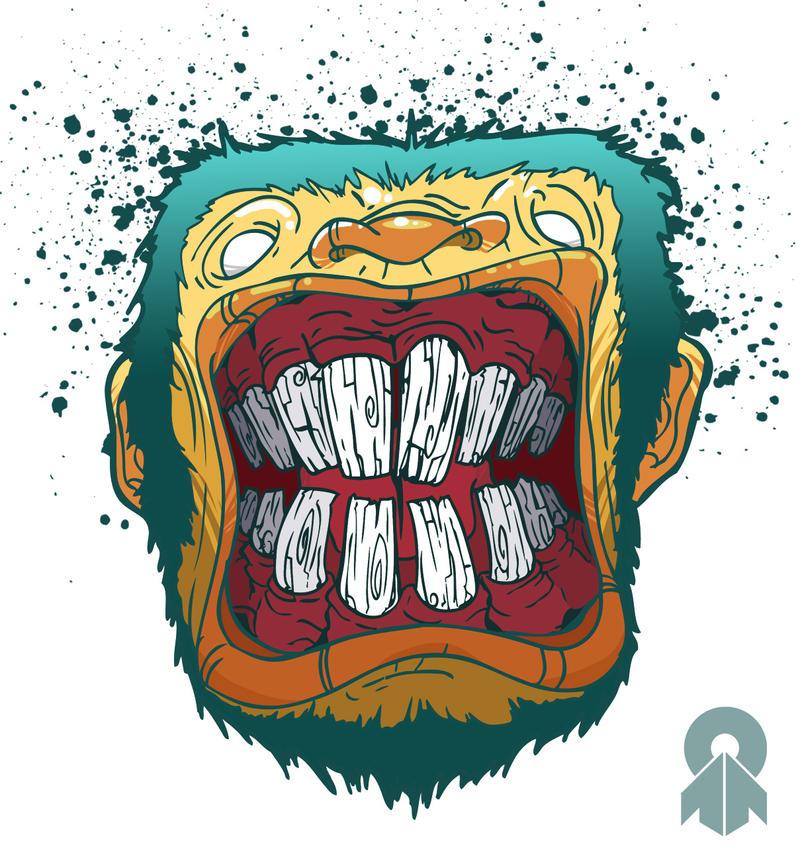 Monkey Headache by MarcosMachina
