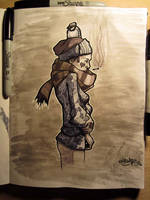 Otonio Sketch by MFMugen