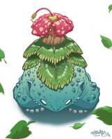 Pokemon- Venusaur by MFMugen