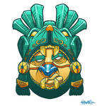 Mayan Warrior Mask