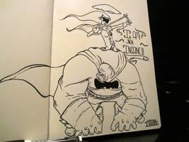 Lab time 7- Batman by MFMugen
