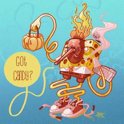 SpongeBob Halloweenpants. by MFMugen