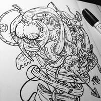 Walrus Dissection W.I.P by MFMugen
