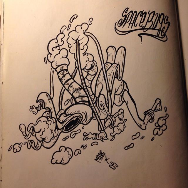 Inktober #2 Zorak by MarcosMachina