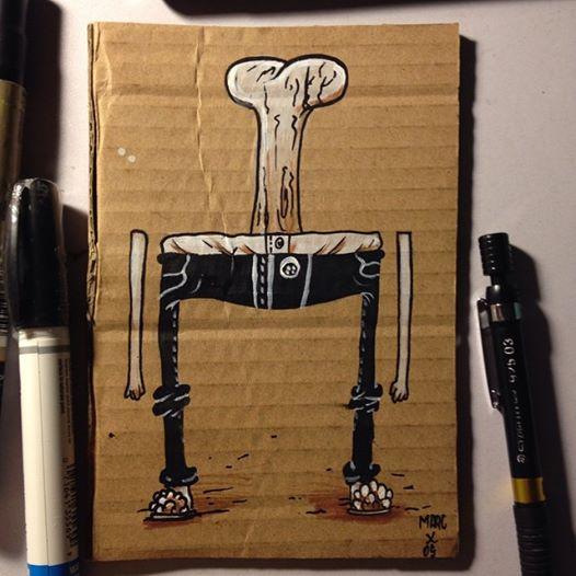 Inktober #6 Boner by MarcosMachina