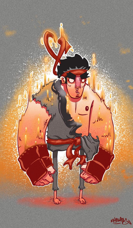 Evil Ryu by MarcosMachina