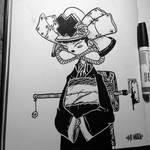 Geisha Samurai by MFMugen