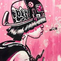 Pink Somber by MFMugen