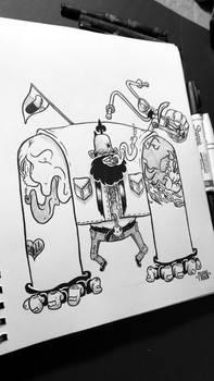 Inktober #1: Ride or Die