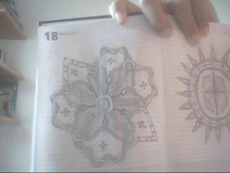 Geometrical drawings 3 by rodrigoayam