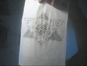 Geometrical drawing by rodrigoayam