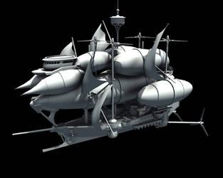 Condor AirShip V.2 Wip Side by Joncuki