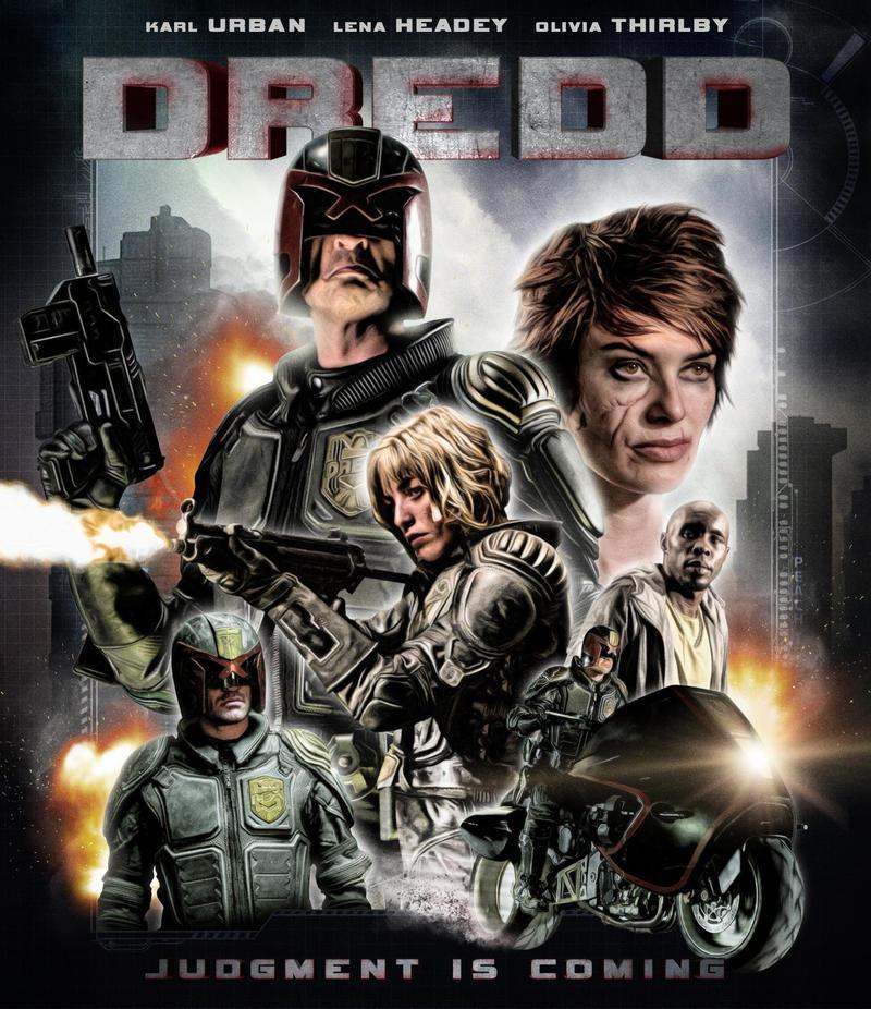 Dredd 2012 Movie Wallpapers