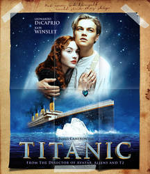 Titanic - Movie Poster by Zungam80