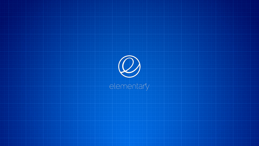 elementary blueprint 1920x1080 wallpaper by Dikoo