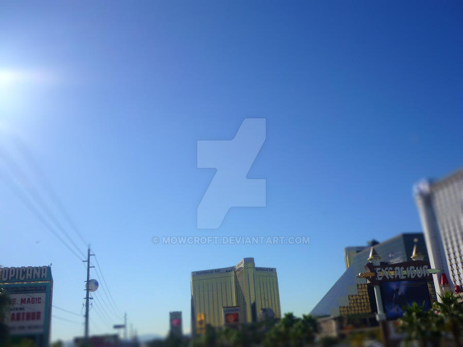 Tilt Shift VEGAS Project 7 by MowCroft