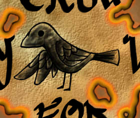 Little Black Bird Coloured by RevoltRagon