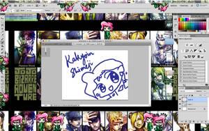 Kakyoin Shimeji(Mac + Wins) by RevoltRagon