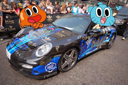 Gumballs Porsche