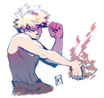 BnHA: Bakugo Katuski by CluelessCaptain
