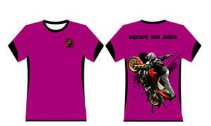 Camisa Motos Equipe
